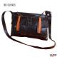 Sac à main de créateur Douglas original vintage marron /orange