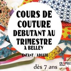 Stage couture Vacances Belley enfants adultes