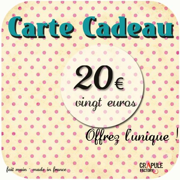 Cadeau sympa pour 20 euros