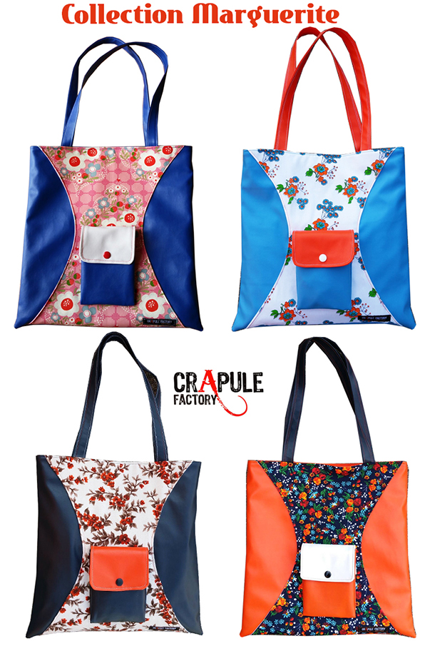 Collection cabas tote bag artisanal crapule factory
