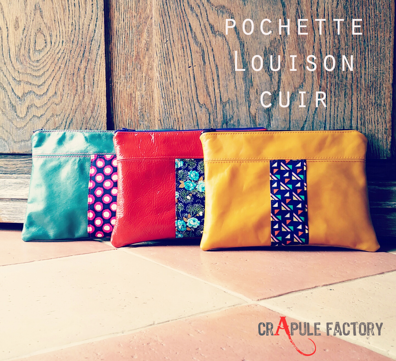 pochette Louison cuir