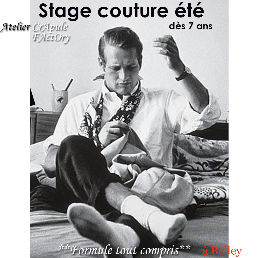 stage couture Belley - cours de couture - loisirs Belley  ain Atelier CrApule FActOry - bugey sud stéphanie Erlich-Maujean